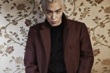 T.O.P Poses For L'Officiel Hommes With Silver Hair