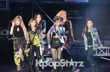 2NE1 Celebrates Psy's 'Summer Stand, The Drenched Show 2012' with Splendid Performance