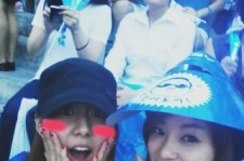 After School's Uee and Jooyeon Attend PSY's Summer Concert!