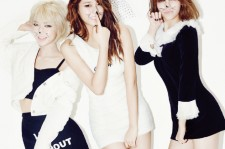 AOA's Jimin, ChoA and Seol in Ceci January 2015