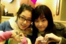 Park Shin Hye and Lee Eun Song