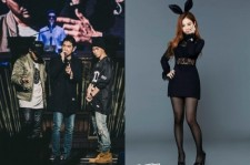 lee hi performing at epik high's concert