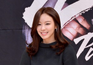 Kim Ah Joong at a Press Conference of SBS Drama 'Punch'