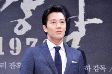 Kim Rae Won Attends a Press Conference of Upcoming Movie 'Gangnam 1970'