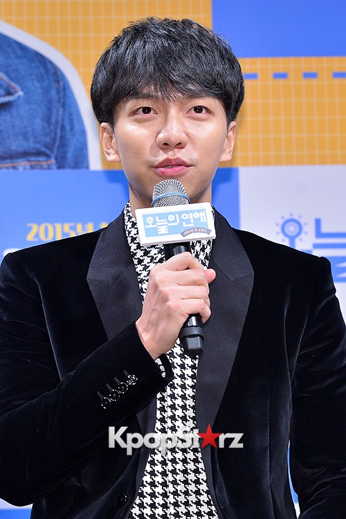 Lee Seung Gi Attends a Press Conference of Upcoming Movie 'Today's Love' key=>2 count71
