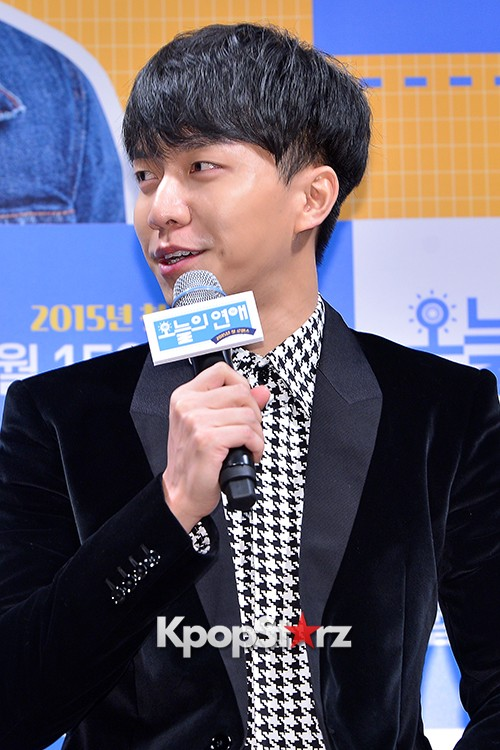 Lee Seung Gi Attends a Press Conference of Upcoming Movie 'Today's Love' key=>3 count71