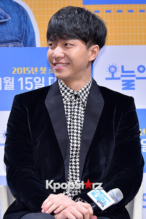 Lee Seung Gi Attends a Press Conference of Upcoming Movie 'Today's Love' key=>4 count71