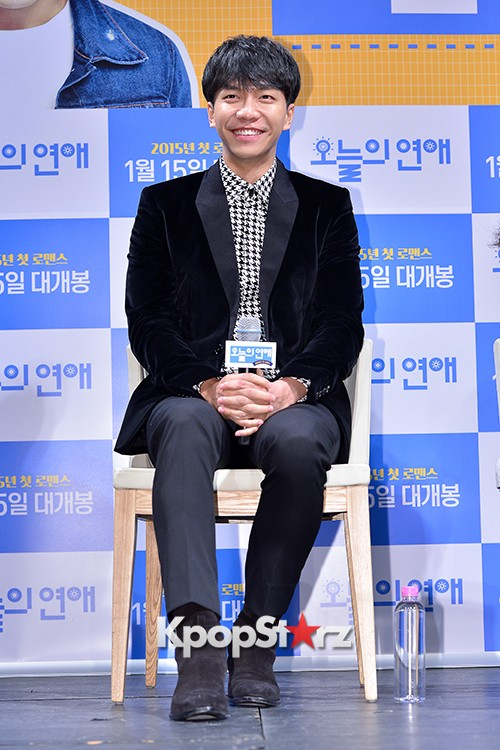 Lee Seung Gi Attends a Press Conference of Upcoming Movie 'Today's Love' key=>7 count71