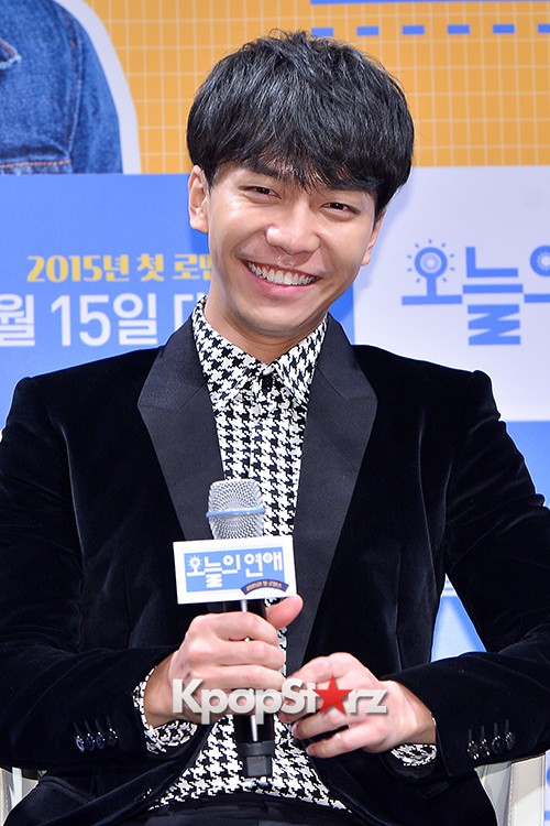 Lee Seung Gi Attends a Press Conference of Upcoming Movie 'Today's Love' key=>8 count71