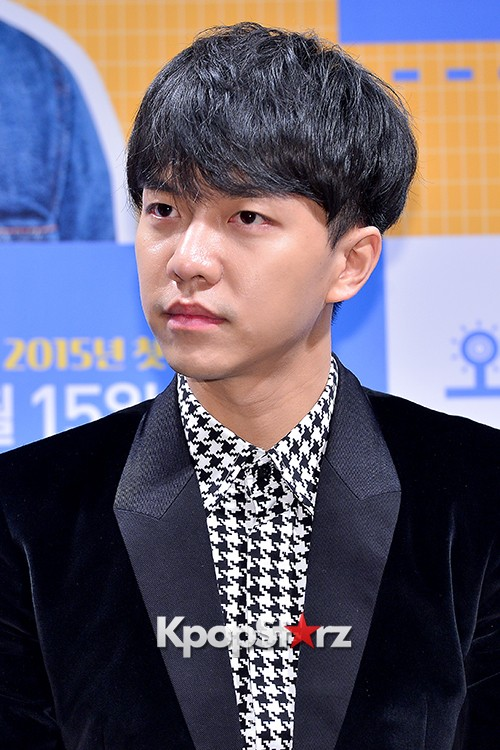 Lee Seung Gi Attends a Press Conference of Upcoming Movie 'Today's Love' key=>11 count71