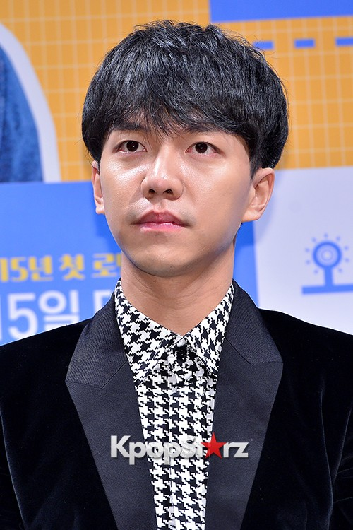 Lee Seung Gi Attends a Press Conference of Upcoming Movie 'Today's Love' key=>12 count71