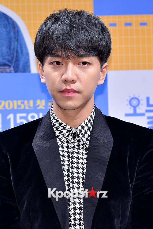 Lee Seung Gi Attends a Press Conference of Upcoming Movie 'Today's Love' key=>13 count71