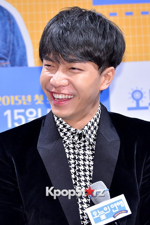 Lee Seung Gi Attends a Press Conference of Upcoming Movie 'Today's Love' key=>17 count71