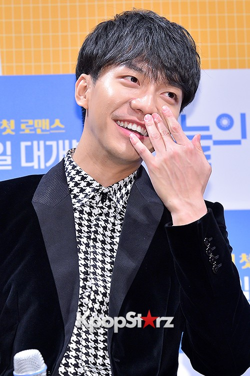 Lee Seung Gi Attends a Press Conference of Upcoming Movie 'Today's Love' key=>21 count71