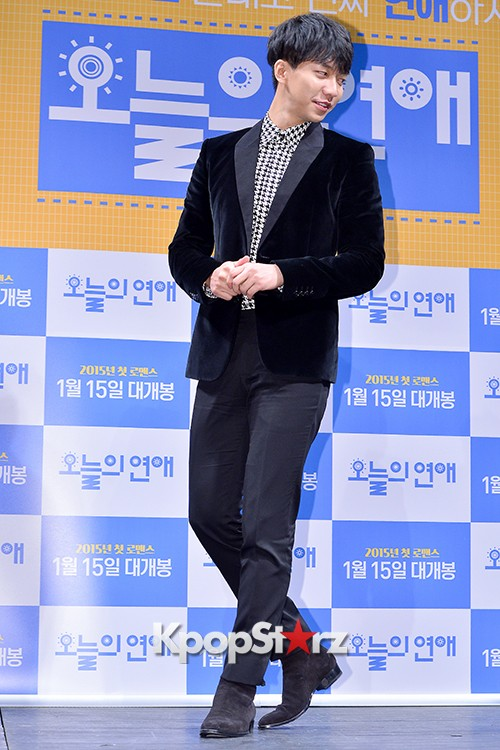 Lee Seung Gi Attends a Press Conference of Upcoming Movie 'Today's Love' key=>25 count71