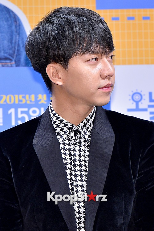 Lee Seung Gi Attends a Press Conference of Upcoming Movie 'Today's Love' key=>27 count71