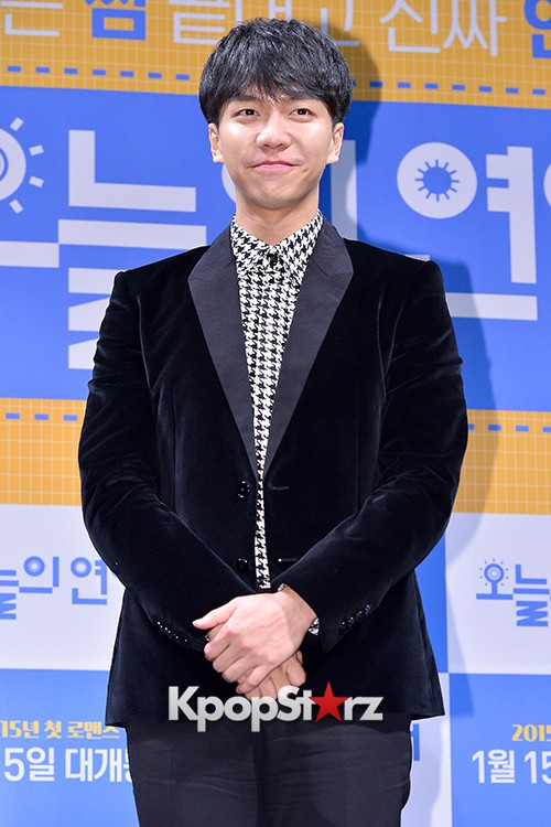 Lee Seung Gi Attends a Press Conference of Upcoming Movie 'Today's Love' key=>29 count71