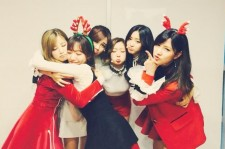 Apink wins on the Dec. 20th episode of 'Music Core.'