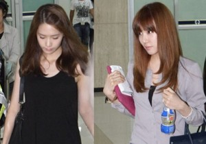 Girls' Generation Reveals Natural Beauty at Kimpo Airport on August 15