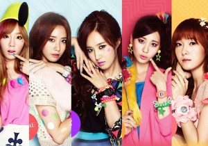 Nine Different Charms of Girls' Generation with Casio Baby-G & SNSD Wink Campaign Photo Shoot