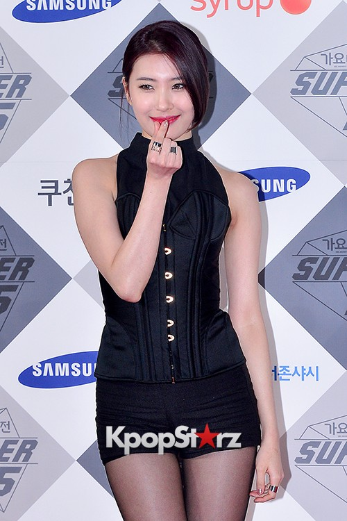 Park Boram, Sunmi and Ailee at SBS Gayo Daejun Photo Wallkey=>13 count27