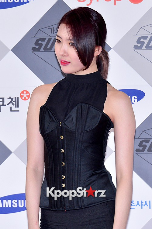 Park Boram, Sunmi and Ailee at SBS Gayo Daejun Photo Wallkey=>15 count27