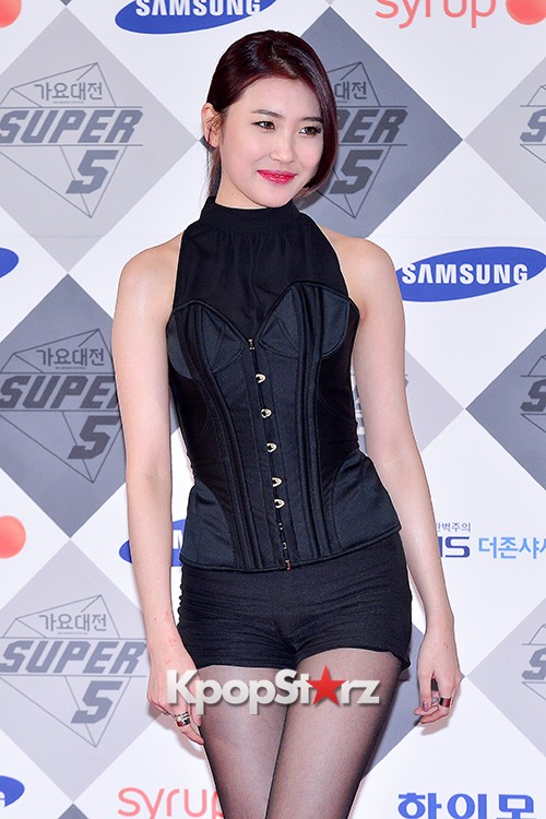 Park Boram, Sunmi and Ailee at SBS Gayo Daejun Photo Wallkey=>18 count27