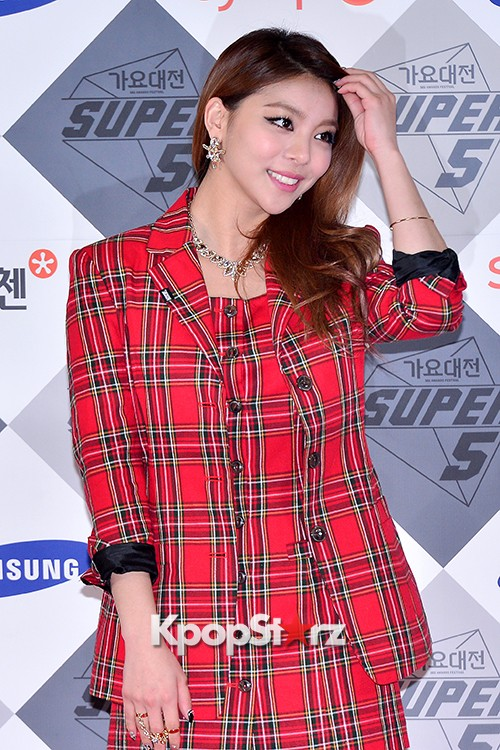 Park Boram, Sunmi and Ailee at SBS Gayo Daejun Photo Wallkey=>23 count27