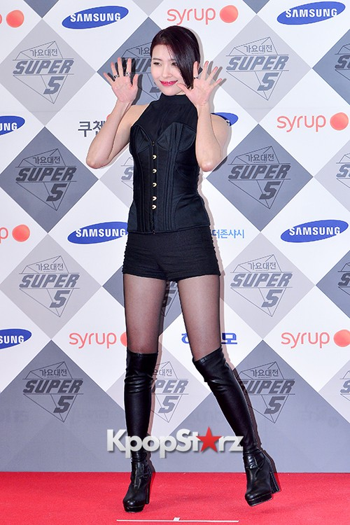 Park Boram, Sunmi and Ailee at SBS Gayo Daejun Photo Wallkey=>12 count27