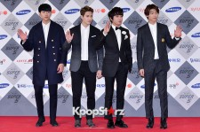 CNBLUE at SBS Gayo Daejun Photo Wall