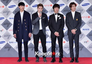 CNBLUE at SBS Gayo Daejun Photo Wall