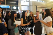 World Star Psy? International Fans Wait for Psy at Los Angeles Airport on August 15