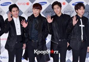 INFINITE at SBS Gayo Daejun Photo Wall