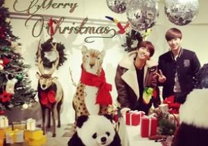 ZE:A Kwanghee and EXO Suho