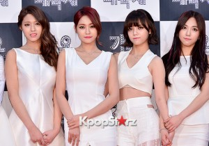 AOA at 2014 KBS Gayo Daechukje Red Carpet
