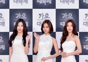 Girl's Day at 2014 KBS Gayo Daechukje Red Carpet