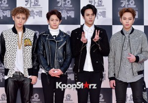 Beast at 2014 KBS Gayo Daechukje Red Carpet