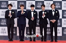 B1A4 at 2014 KBS Gayo Daechukje Red Carpet