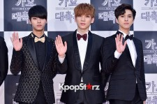VIXX at 2014 KBS Gayo Daechukje Red Carpet