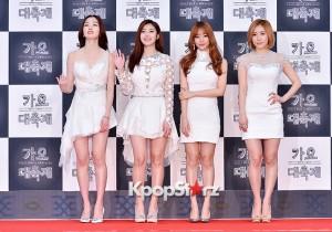Secret at 2014 KBS Gayo Daechukje Red Carpet