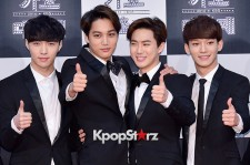 EXO at 2014 KBS Gayo Daechukje Red Carpet