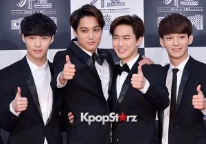 EXO at 2014 KBS Gayo Daechukje Red Carpet