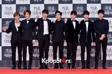 Infinite at 2014 KBS Gayo Daechukje Red Carpet
