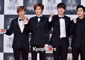 Infinite at 2014 KBS Gayo Daechukje Red Carpet