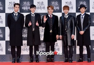 2PM at 2014 KBS Gayo Daechukje Red Carpet