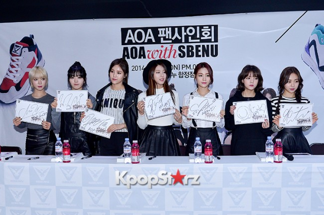 AOA at SBENU Fansign Event key=>7 count27