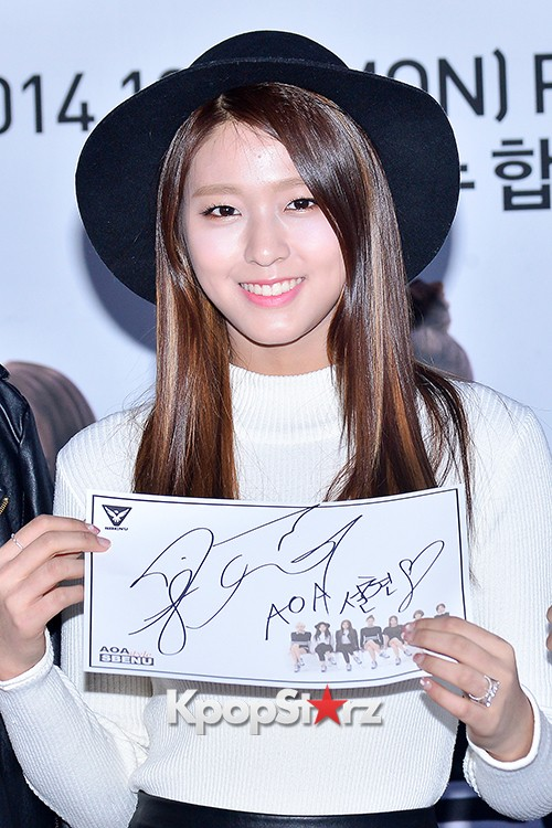 AOA at SBENU Fansign Event key=>13 count27