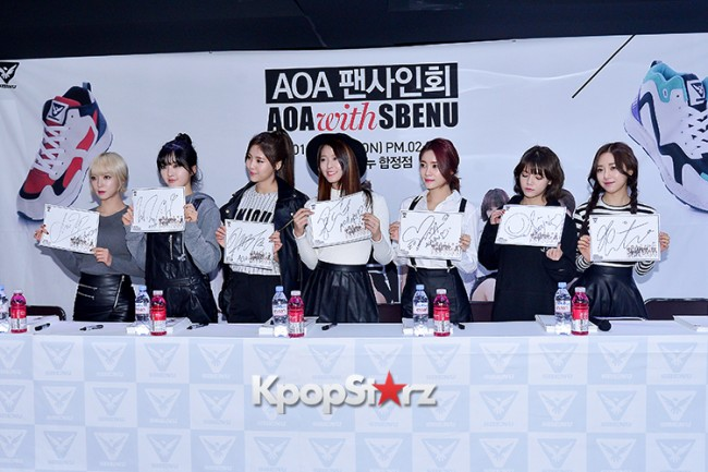 AOA at SBENU Fansign Event key=>21 count27