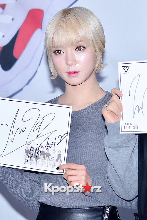 AOA at SBENU Fansign Event key=>22 count27