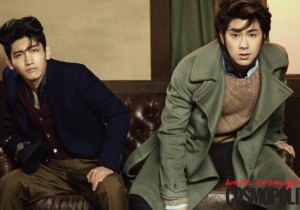 TVXQ Turn Into Refined 1950s Actors on 'COSMO MEN' Photo Shoot